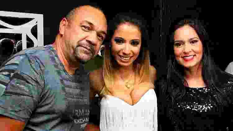 Rômulo Costa, Anitta e Priscila Nocetti - Divulgação