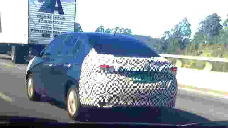 Toyota Yaris Sedan flagra - Juares Bianco/UOL - Juares Bianco/UOL