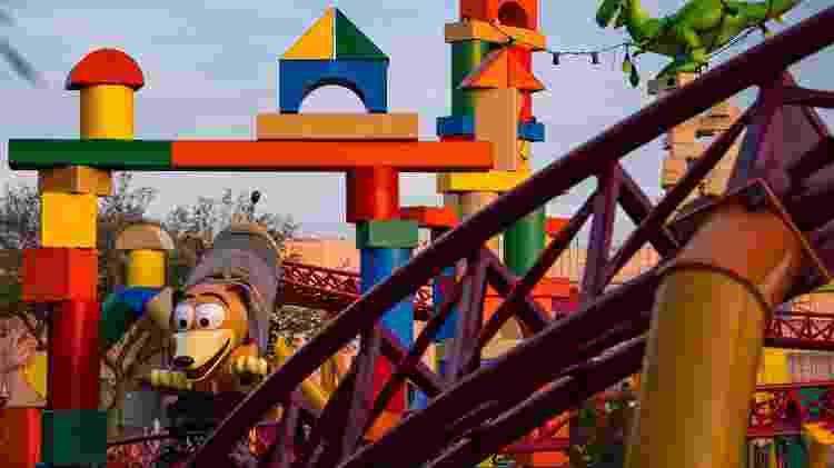 A Toy Story Land terá uma montanha-russa inspirada no cachorro de mola Slinky - Divulgação/Visit Orlando - Divulgação/Visit Orlando