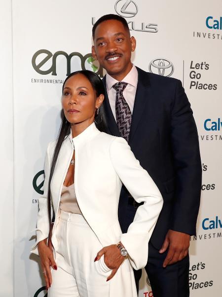Jada Pinkett Smith e Will Smith estão juntos há 25 anos - Getty Images