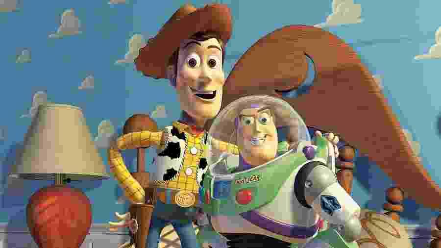"""Imagem da franquia """"Toy Story"""", que em 2019 ganhará o quarto filme - Reprodução"""