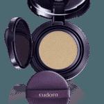 Base Cushion Oil-Free Skin Perfection, Eudora, R$ 139,99 . oil free. De média cobertura, possui FPS 40, efeito mate e alta hidratação (www.eudora.com.br) - Divulgação