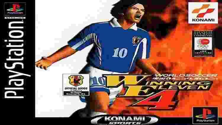 capa do jogo Winning Eleven 4 - Reprodução - Reprodução