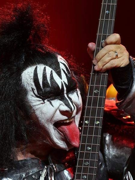 Gene Simmons, vocalista e baixista do Kiss - Getty Images