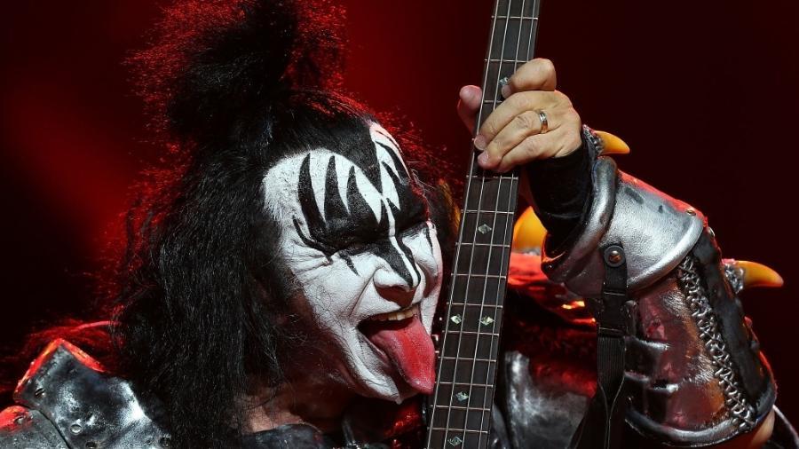Gene Simmons, do Kiss, detonou Ace Frehley e Peter Criss - Getty Images
