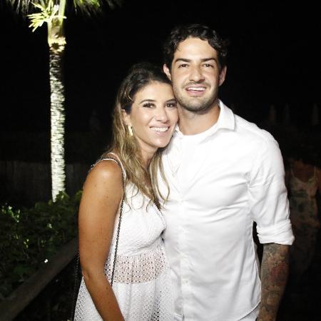 Rebeca Abravanel e o jogador Alexandre Pato  - Fred Pontes/Divulgação