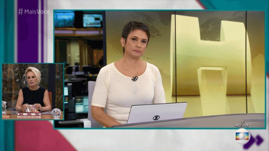 Sandra Annenberg fala sobre noticiar a morte de Boechat - Reprodução/TV Globo
