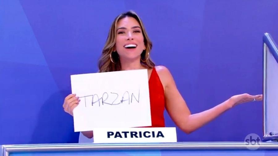 """Patricia Abravanel no """"Jogo dos Pontinhos"""" - Reprodução/SBT"""