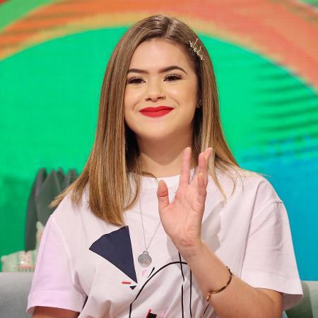 Maisa fala com a imprensa durante o lançamento de seu novo programa no SBT - Manuela Scarpa e Marcos Ribas/Brazil News