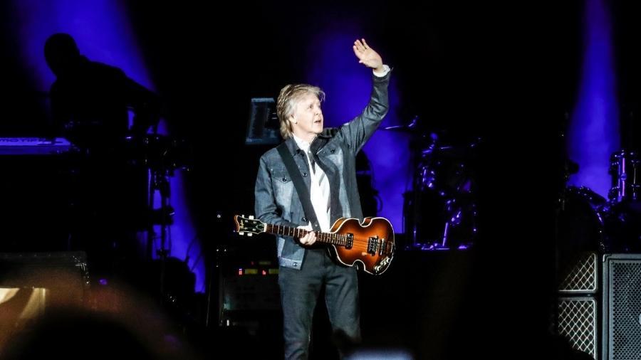 Paul McCartney criticou o governo italiano pela distribuição de vouchers e não do reembolso em apresentações canceladas devido a pandemia do novo coronavírus - Lucas Lima / UOL