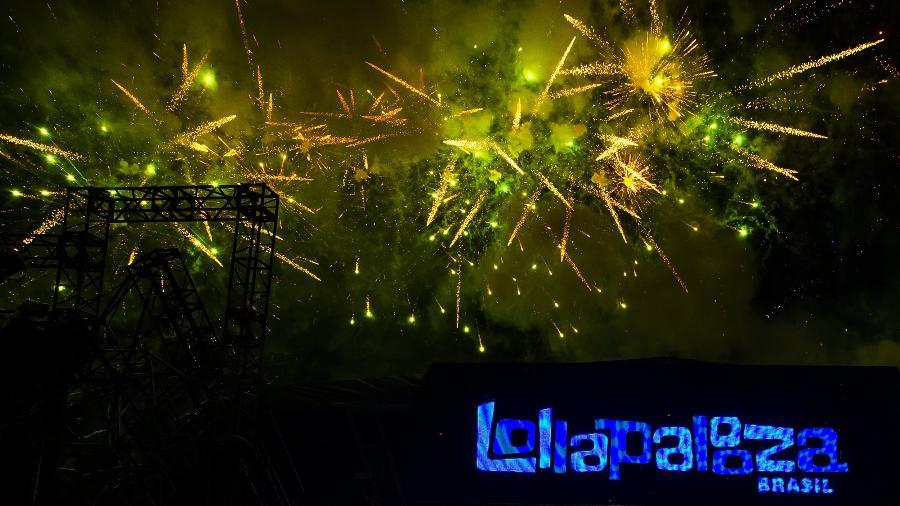 Dimitri Vegas & Like Mike se apresentam no terceiro dia de shows do Lollapalooza Brasil 2019 - Mariana Pekin/UOL