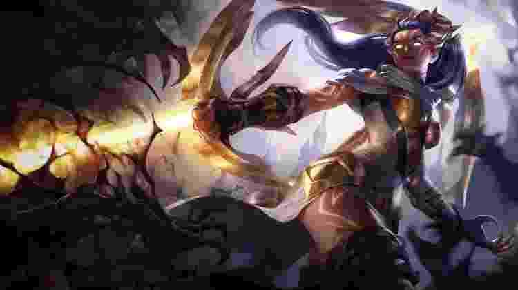 League of Legends - Vayne - Reprodução - Reprodução
