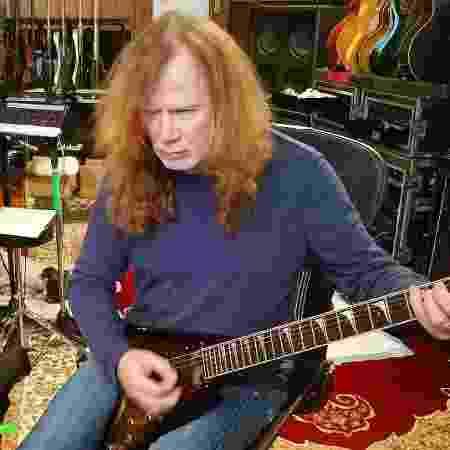 Dave Mustaine grava o novo álbum do Megadeth em um estúdio no Tennessee - Reprodução