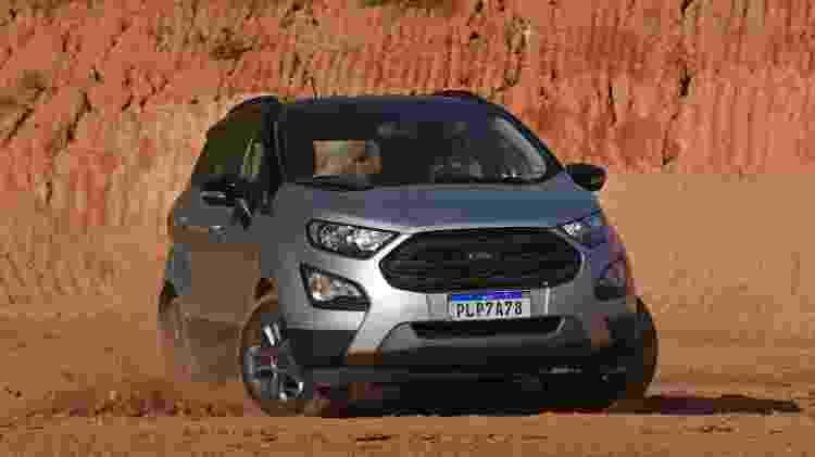Duelo Ford EcoSport Freestyle X Jeep Renegade Longitude - Murilo Góes/UOL - Murilo Góes/UOL
