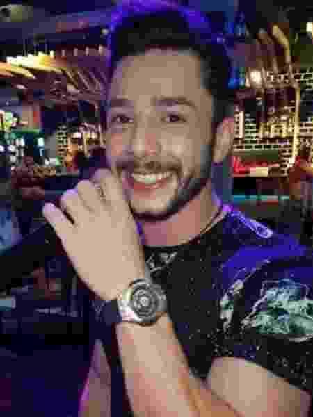 O cantor sertanejo Jota Bruno - Reprodução/Facebook