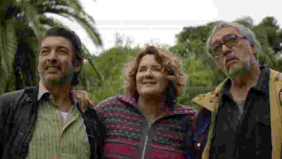 """Darín, Llinás e Brandoni em """"A odisseia dos tontos"""" - Divulgação"""