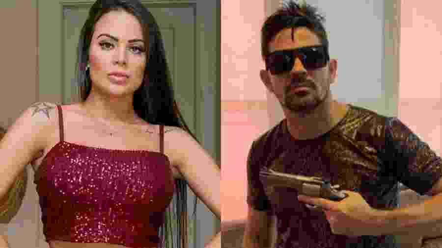Victória Villarim acusa Weliton Costa, irmão de seu ex-Eduardo Costa, de ameaça de morte - Reprodução/Instagram
