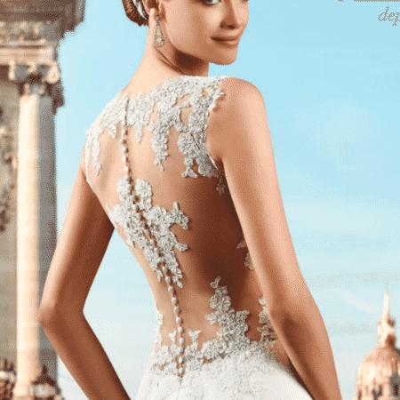 Pronuptia foi lançada em 1958 com modelos mais acessíveis de vestidos de noiva - Pronuptia/Divulgação