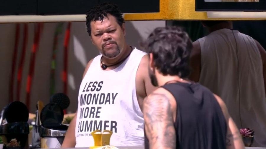 BBB 20: Babu reclama de Daniel para Guilherme - Reprodução/Globo