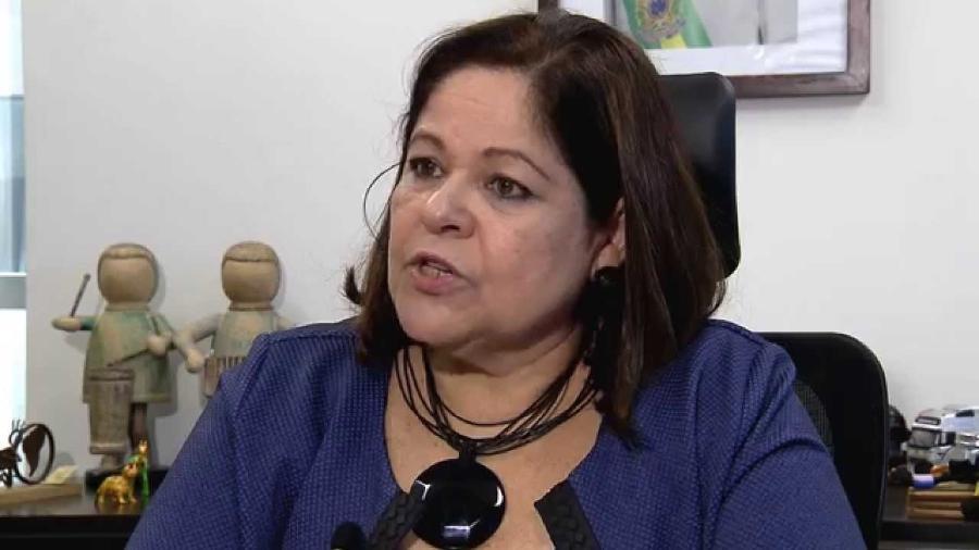 A assistente social Angélica Goulart, que morreu em 2016 e dá nome à ex-Fundação Xuxa - Reprodução
