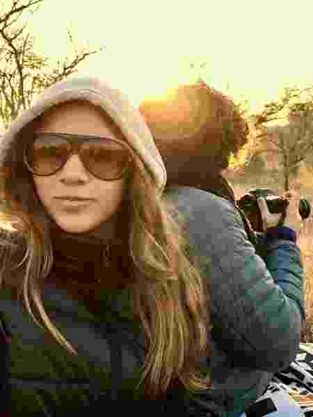 Gabriela Goldwasser, do blog Juju na Trip, viaja com o marido e a filha - Arquivo pessoal