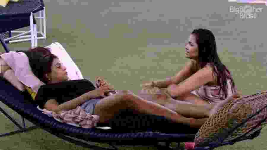 BBB 20: Mari e Flayslane falam de opção de voto em Thelma - Reprodução/Globoplay