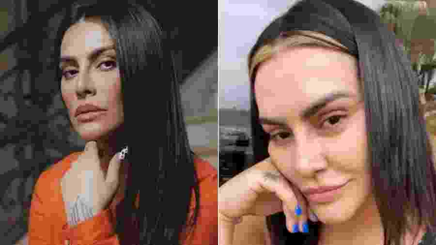Cleo Pires adotou mechas loiras no cabelo - Reprodução/Instagram
