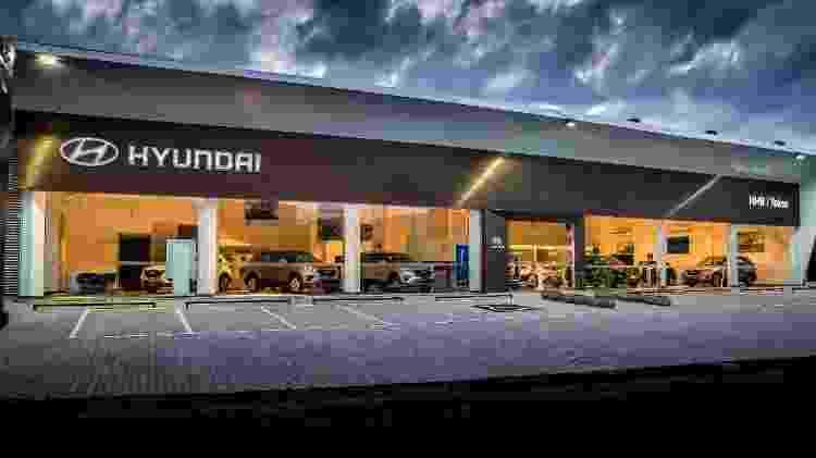 Concessionária Hyundai - Divulgação - Divulgação