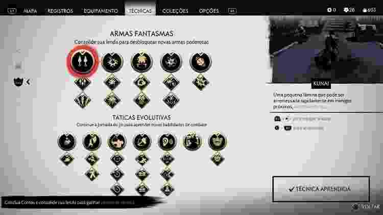 Ghost of Tsushima Kunai - Daniel Esdras/GameHall - Daniel Esdras/GameHall