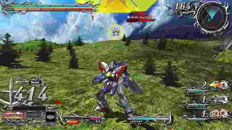 Gundam gameplay - Reprodução - Reprodução