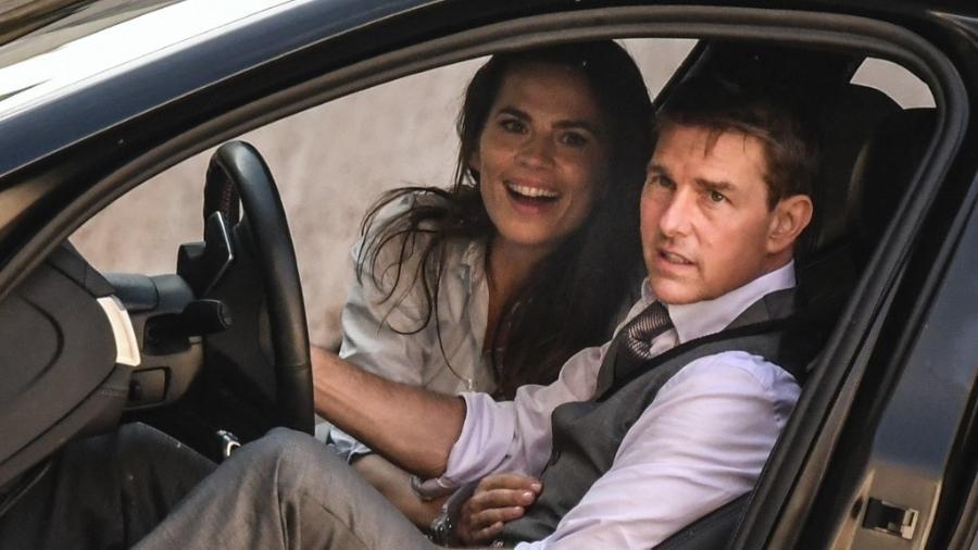 Namoro nunca confirmado de Tom Cruise e Hayley Atwell chegou ao fim - ALBERTO PIZZOLI/AFP