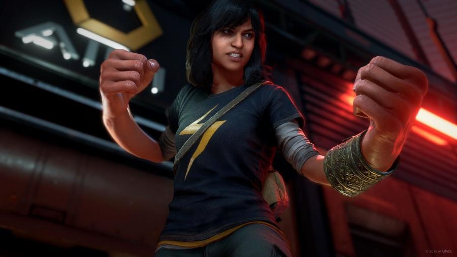 Kamala ainda não participou de nenhum filme, mas tem carisma para roubar a cena no game - Divulgação/Square Enix