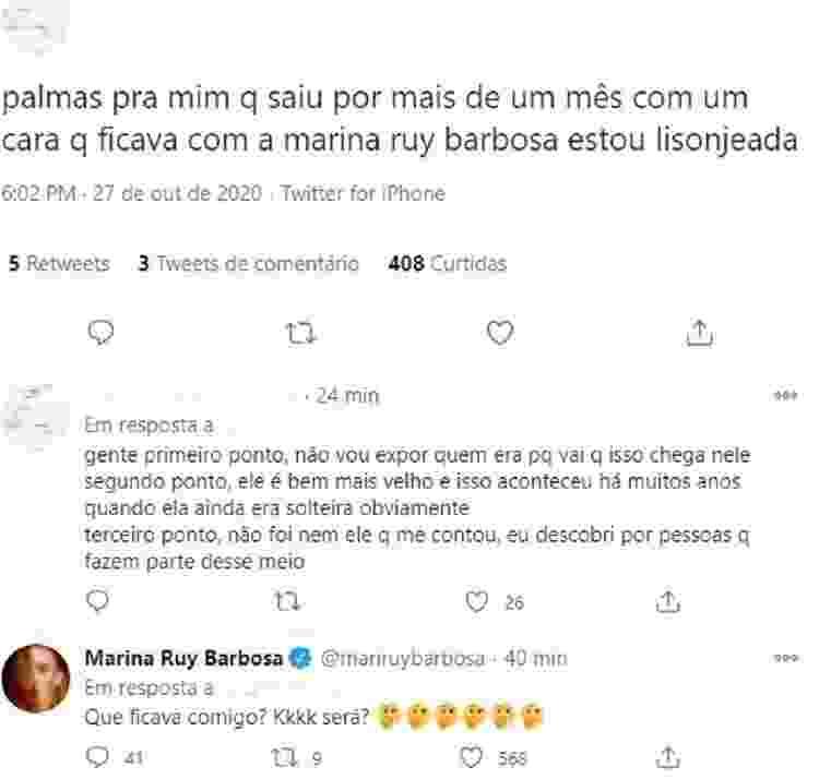Marina Ruy Barbosa - Reprodução/Twitter - Reprodução/Twitter