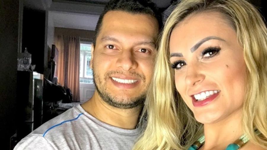 Andressa Urach e seu ex-marido, Thiago Lopes, quando ainda casados - Reprodução/Instagram