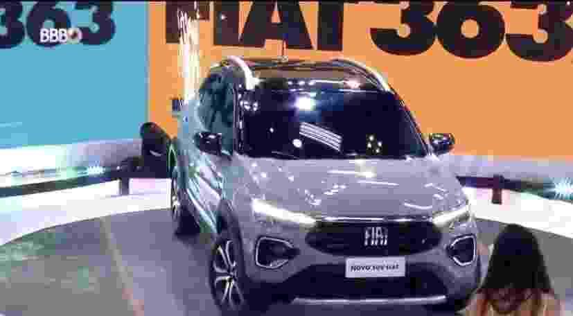 SUV da Fiat no BBB21 - Reprodução