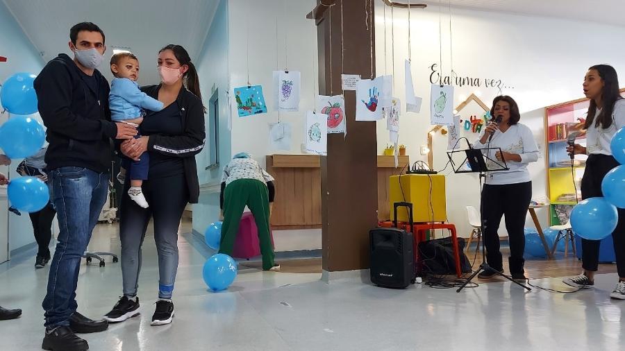 O menino de um ano e oito meses estava internado no Hospital da Criança Augusta Muller Bohner, em Chapecó - Alcebíades Santos/HC