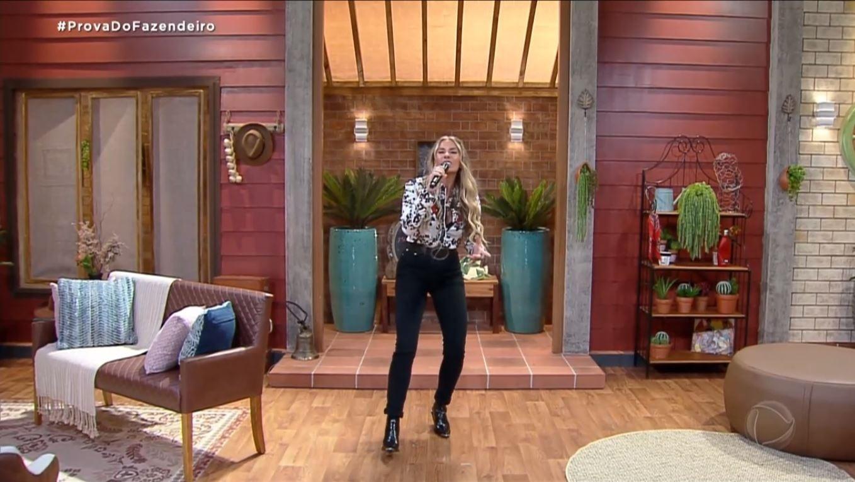 The Farm 2021: Adriane Galisteu eligió jeans para el primer gusto del granjero - clon / Playplus