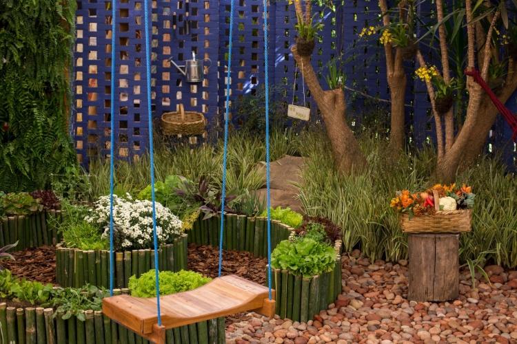 Fotos: 10 ideias para montar e decorar seu jardim e sua horta ...