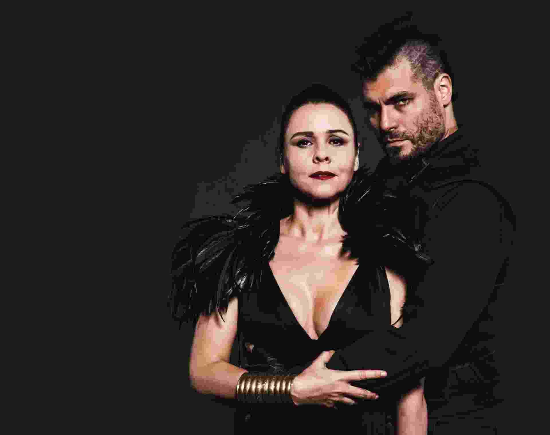 """Giulia Gam e Thiago Lacerda estão em """"Macbeth"""", de William Shakespeare, com direção de Ron Daniels - Adriano Fagundes"""
