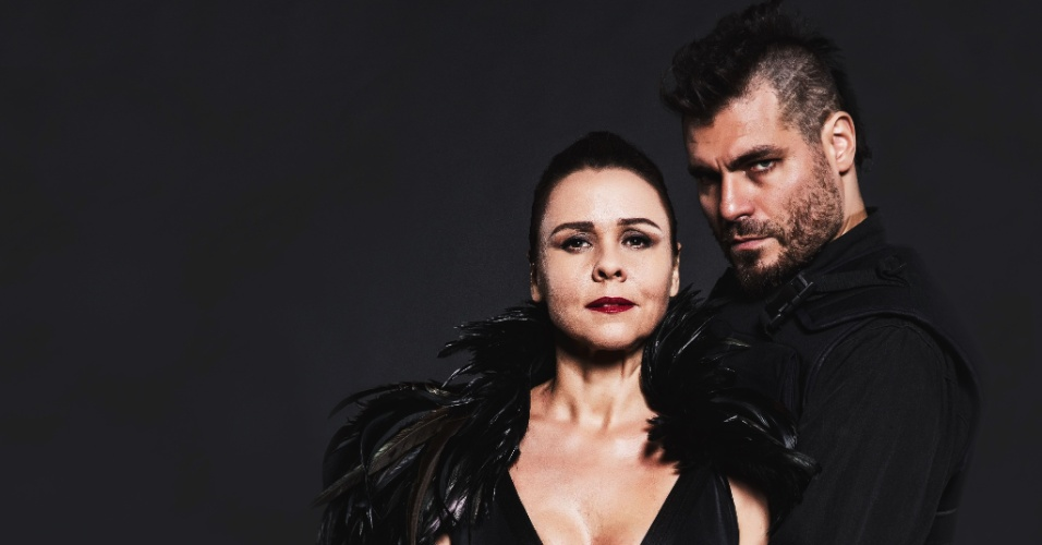 Giulia Gam e Thiago Lacerda estão em