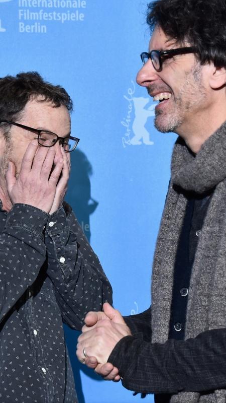 """11.fev.2016 - Os irmãos Ethan e Joel Coen dirigiram """"Ave, César!"""", filme que abriu a 66ª edição do Festival de Berlim. - Pascal Le Segretain/Getty Images"""