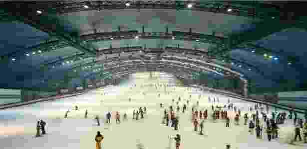 """Fotografia """"Janela dentro do Ski Dome"""", de Armin Linke, da Coleção MAXXI ? Museu de Arte do Século XXI - Armin Linke/Divulgação"""