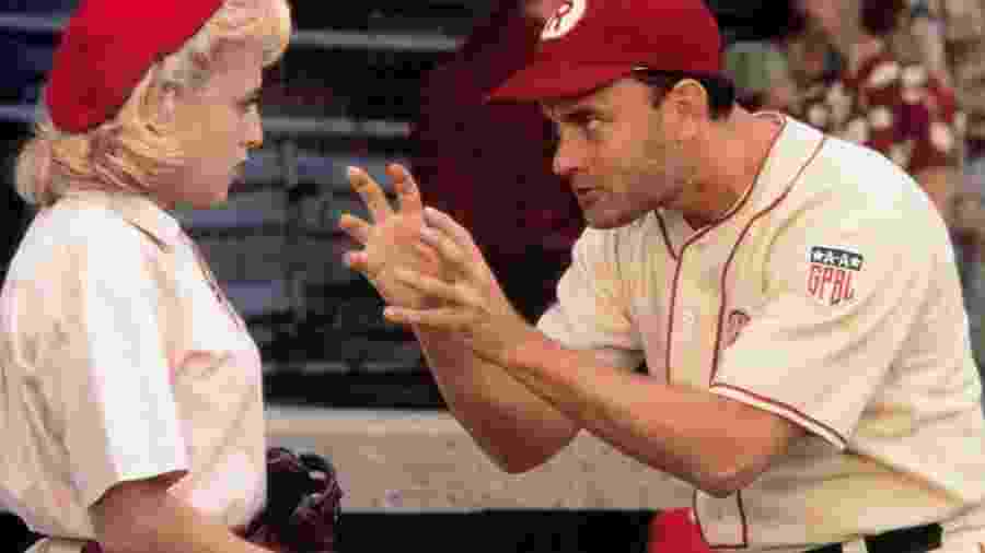 """""""Uma Equipe Muito Especial"""" conta a história da primeira liga feminina de beisebol nos EUA - Reprodução"""