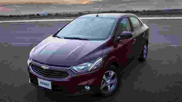 Chevrolet Prisma 2016 - Divulgação - Divulgação