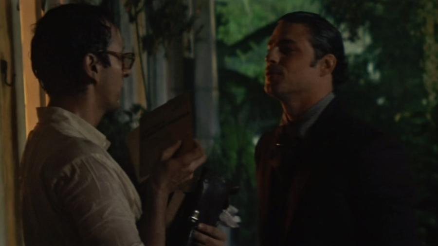 """Nael (Irandhir Santos) reencontra Yaqub (Cauã Reymond) em """"Dois Irmãos"""" - Reprodução/TVGlobo"""