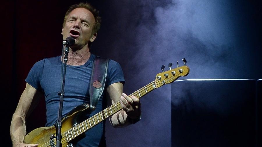 Sting se apresentou em São Paulo em maio de 2017 - AgNews