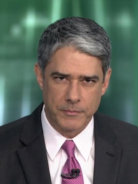 William Bonner vai mediar o debate presidencial na Globo - Reprodução/TV Globo