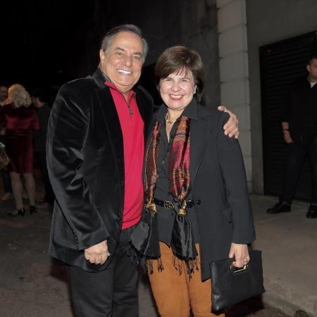 O cantor e apresentador Ronnie Von e a mulher - Marcos Ribas/Brazil News