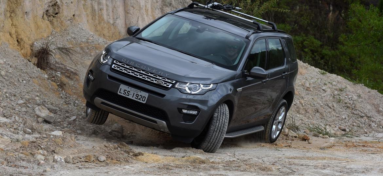 Discovery Sport é um dos modelos produzidos em Itatiaia (RJ) - Murilo Góes/UOL