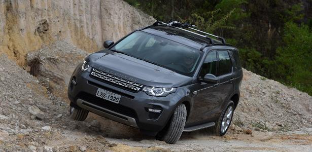 Discovery Sport é um dos modelos produzidos em Itatiaia (RJ)